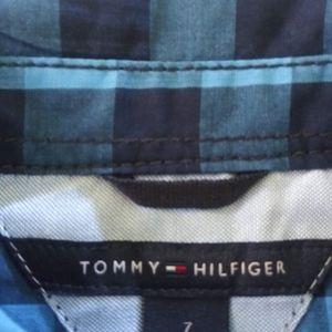 TOMMY HILFIGER BOYS SHIRT SIZE 7